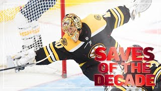 Great Saves of the Decade | 2010-2019 | NHL