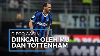 Mantan Kapten Atletico Madrid Diego Godin Jadi Rebutan Manchester United dan Tottenham Hotspur