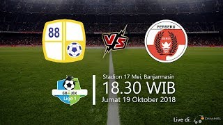 Live Streaming Ochannel TV, Barito Putera Vs Perseru Serui di Liga 1 2018, Jumat Pukul 18.30 WIB