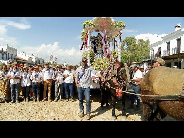 La Hermandad del Rocío de Cartaya hace su primer camino en solitario