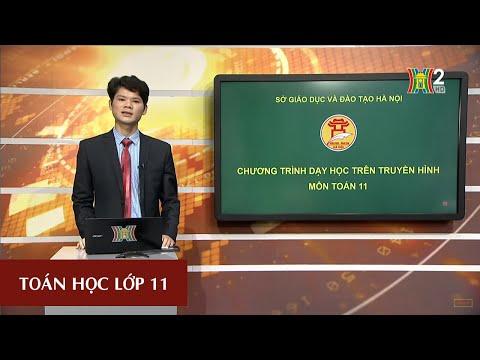 MÔN TOÁN - LỚP 11 | GIỚI HẠN CỦA HÀM SỐ (TIẾT 3) | 17H10 NGÀY 06.04.2020 | HANOITV