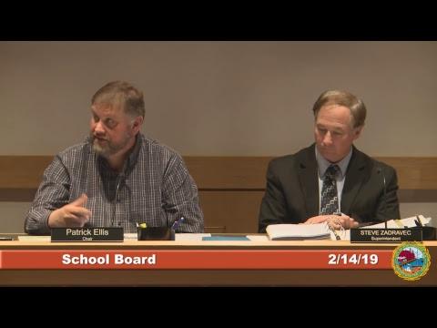 School Board 2.14.19