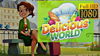 Delicious World ❤️⏰🍕 A New Cooking Game 🍕⏰❤️