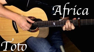 Kelly Valleau - Africa (Toto) - Fingerstyle Guitar