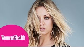 Women's Health - Behind the Scenes With Kaley Cuoco