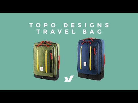 The All New Topo Designs Travel Bag