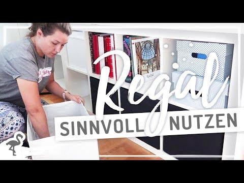 IKEA Kallax Regal AUSMISTEN & ORGANISIEREN #nurwasichmag