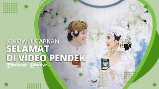 Kevin Aprilio dan Vicy Melanie Menikah, Presiden Jokowi Sampaikan Ucapan Selamat di Video Pendek