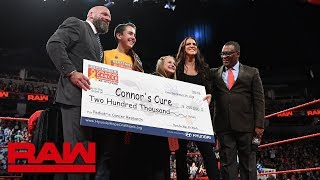 WWE & Connor's Cure team with Hyundai Hope on Wheels to battle pediatric cancer: Raw, Sept. 24, 2018 - Video Youtube