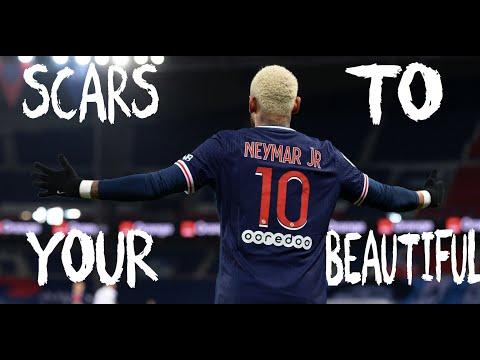 Neymar Jr .. Scars To Your Beautiful .. Alessia Cara - Crazy Skills & Goals _ HD _ 2021 . football