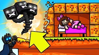 Minecraft: WITHER FAST FOOD LUCKY BLOCK BEDWARS! - Modded Mini-Game