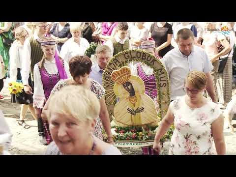 Dni Puńska - Zielna 2021. Procesja z wieńcami - ołtarzykami i kiermasz