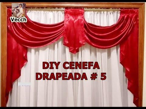 COMO HACER UNAS CORTINAS DRAPEADAS # 5