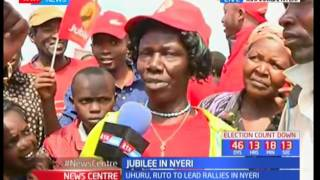 Jubilee to tour Nyeri: President Uhuru kenyatta  expected to address the residence