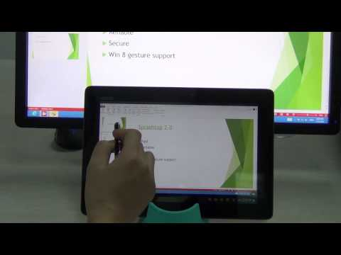Win8 Gesture And Office 2013 Running On Android Tablet, Using Splashtop Personal Mp3