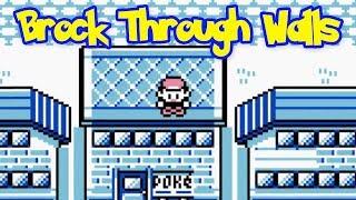 Brock Through Walls Glitch - Pokemon Red/Blue (Tutorial)