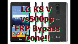 LG K20 Verizon VS501 VS500 FRP Google Account Bypass LAST