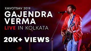 Gajendra Verma   Tera Ghata Live Performance | Kolkata | St. Xavier's |  Xavotsav   2019