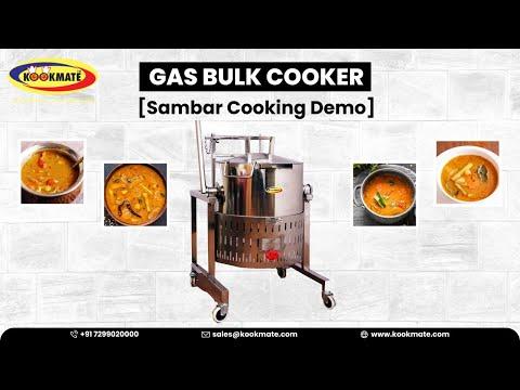 SS Gas Bulk Cooker