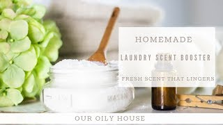 DIY Laundry Scent Boosters | DIY Natural Laundry Products