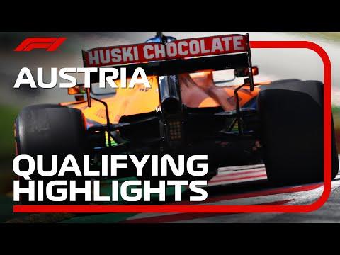 F1 2020 開幕戦オーストリア 予選ハイライト動画
