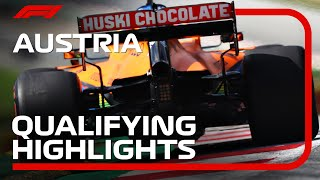 2020 Austrian Grand Prix: Qualifying Highlights
