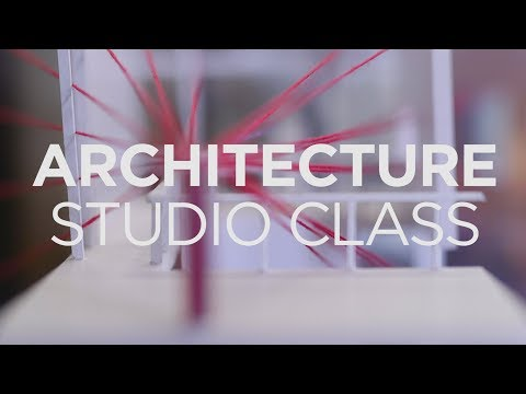Future architects explore KU at a small scale