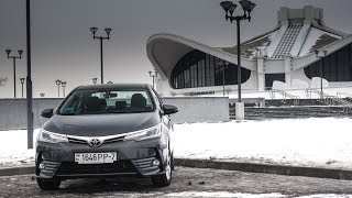 Тестдрайв: Toyota Corolla, 1.8CVT, 2017my
