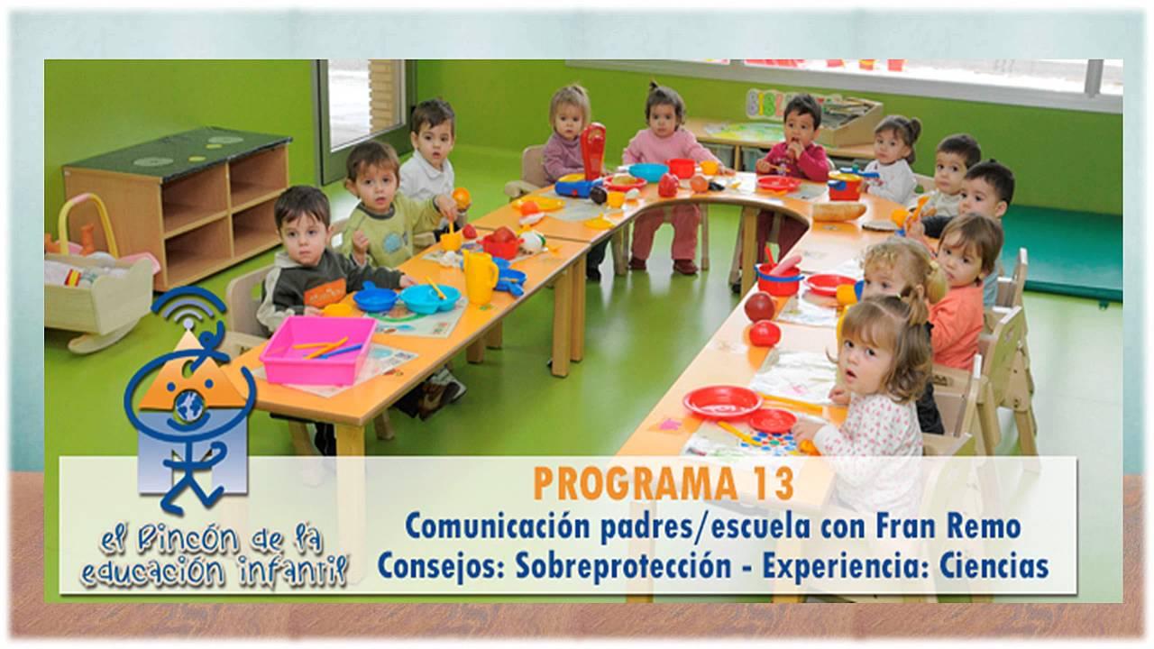 Relación Padres-Escuela. Podcast El Rincón de la Educación Infantil nº 13