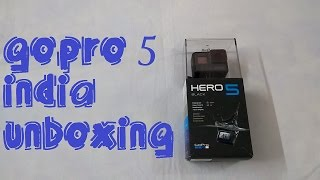 GOPRO HERO 5 Unboxing INDIA | Night Video & Photo Samples