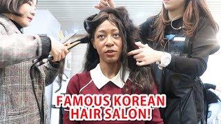 Gambar cover Korean Celebrity Hair Salon Experience! vlogmas