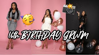 16th BIRTHDAY GRWM | BTS PHOTOSHOOT🥳