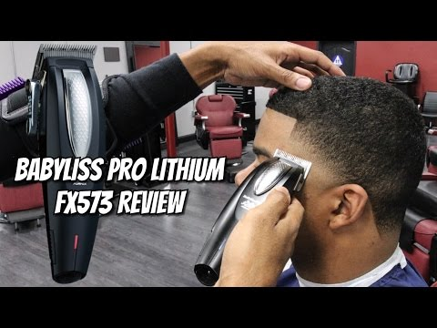 *NEW* BABYLISS PRO LITHIUM FX573 REVIEW | HIGH TAPER | CRISPY LINE UP | ZERO GAP