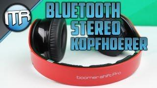 Ultron Boomer Shift Pro - Bluetooth Stereo Kopfhörer [HD] - Deutsch