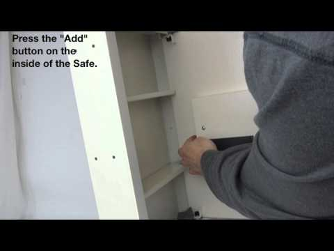 Fingerprint & Digital Combination Access Wall Safe