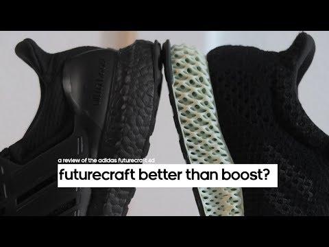 FUTURECRAFT 4D BETTER THAN BOOST? | ADIDAS REVIEW