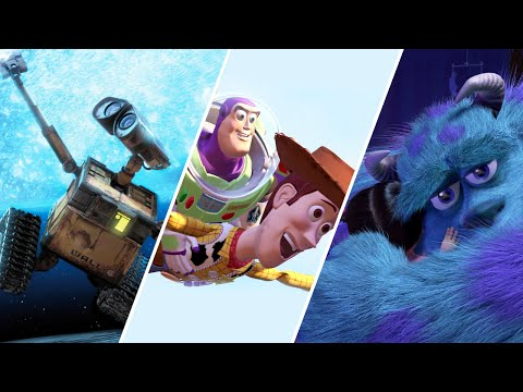 25 Years Of Pixar Goodness In Under 6 Minutes