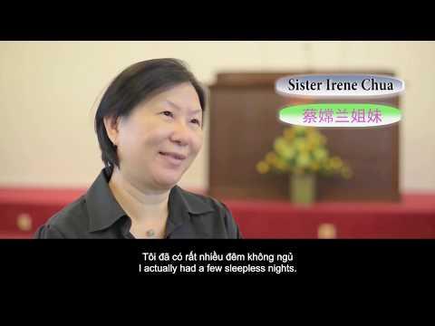 Chị Irene Chua đã luôn tìm kiếm lẽ thật trong một Hội thánh khác trước khi chị nhận ra rằng chị không được cứu.