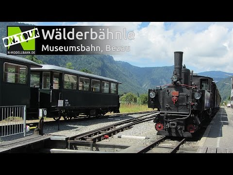 nostalgia train in the bregenzerwald