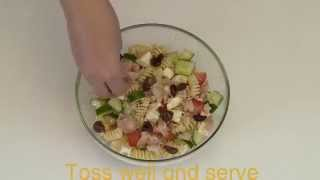How to make a Mediterranean pasta salad