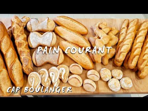 Boulangerie Pas à Pas N°19: Le pain courant. CAP boulanger