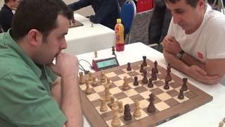 Extra sharp tactical battle: GM Gadir Guseinov - IM Kalezic Blazo,  French defense