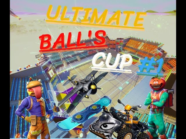 ULTIMATE BALL'S CUP #1 - DURR BURGER VS MR. TOMATO