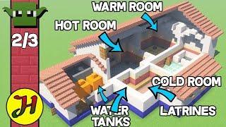 Minecraft Roman Villa Tutorial How To Build A House In Minecraft Minecraftvideos Tv