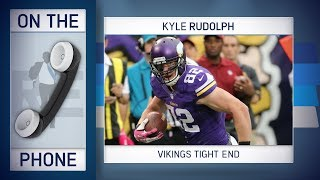 Vikings TE Kyle Rudolph Talks Anthem Policy, Cousins & More w/Rich Eisen | Full Interview | 5/24/18