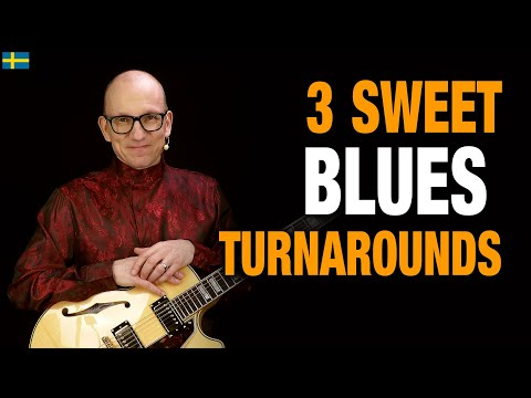 Blues Turnarounds Guitar Lesson