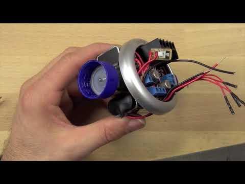 الصفوف المتقدمة الفيزياء الهندسة الكهربائية تركيب عجلات الروبوت