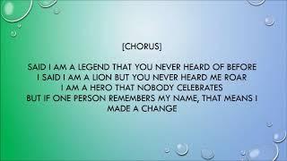 Legend By Chronixx Lyrics