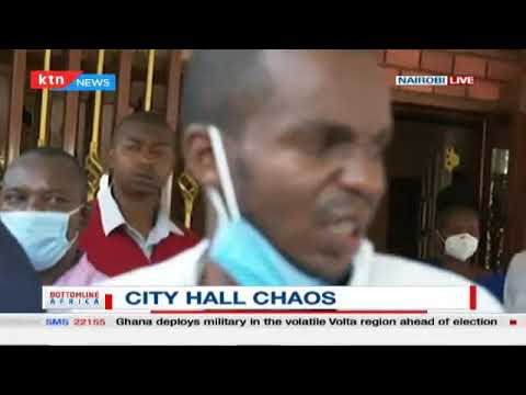 Breaking: Nairobi Governor Mike Mbuvi Sonko arrested amid chaos