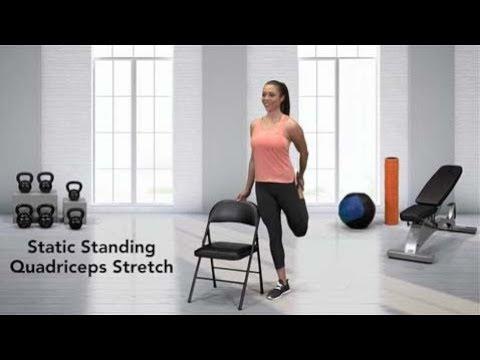 Static Standing Quadriceps Stretch